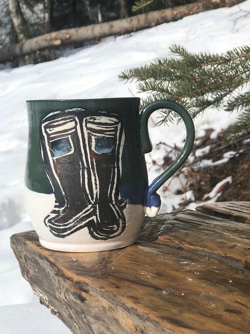 AK Boot Mug