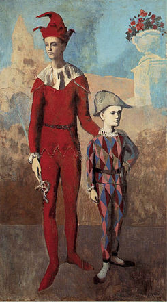 Picasso, Acrobat and Young Harlequin, 1905