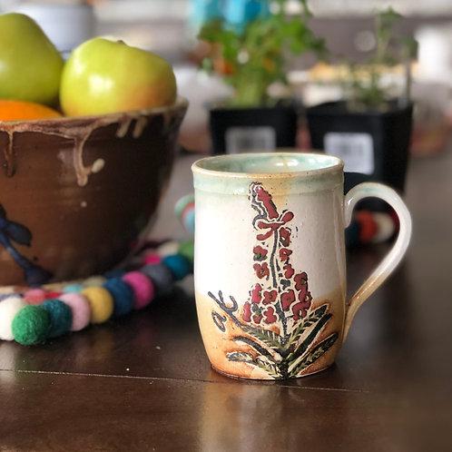 Medium sized Fireweed Mug