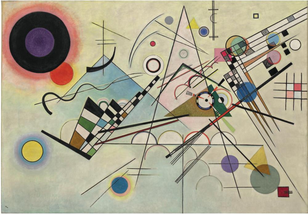 Wassily Kandinsky-1923 Composition 8