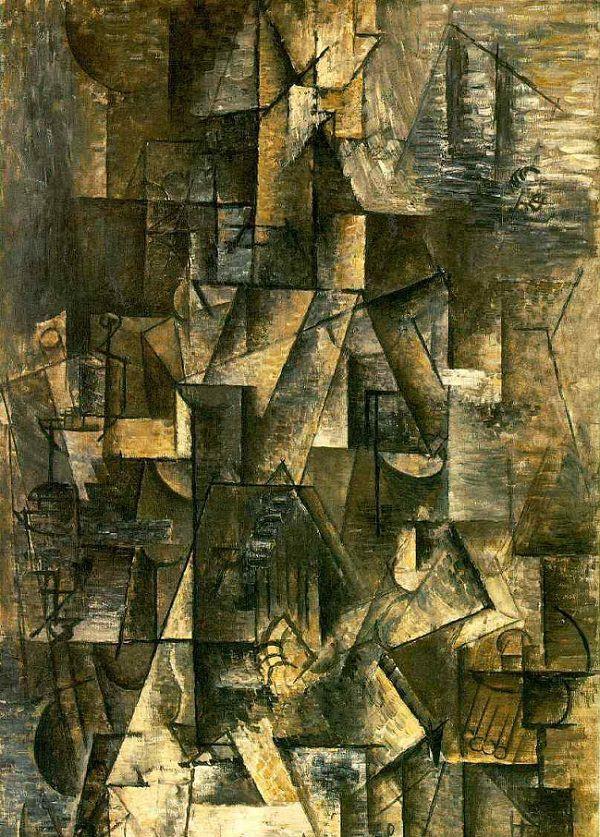 Ma Jolie 1911-1912, Picasso Cubism Period