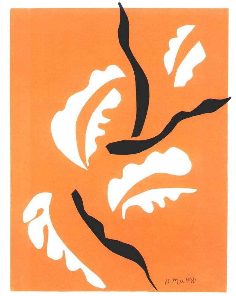 Matisse - Acrobatic Dancer - 1949-1950 - Cut-outs