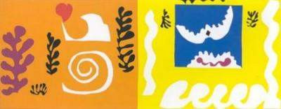 Matisse - The Bird and The Shark - 1947 - Private Collection - Cut-outs