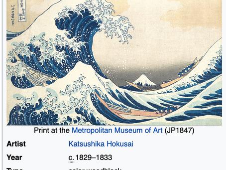 Katsushika Hokusai-One Of His 30 Names:)