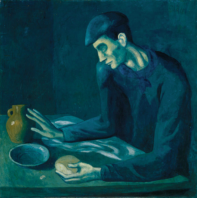 The Blind Man's Meal oil on canvas 1903