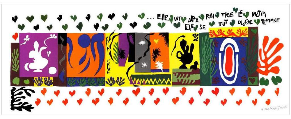 Matisse - The Thousand and One Nights - 1950 - Museum of Art, Carnegie Institute, Pittsburgh - Cut-outs
