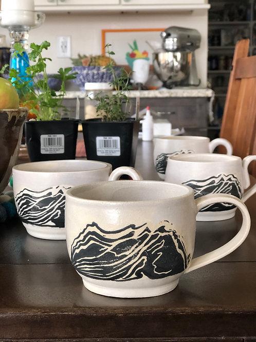 8 ounce Mountain Mug