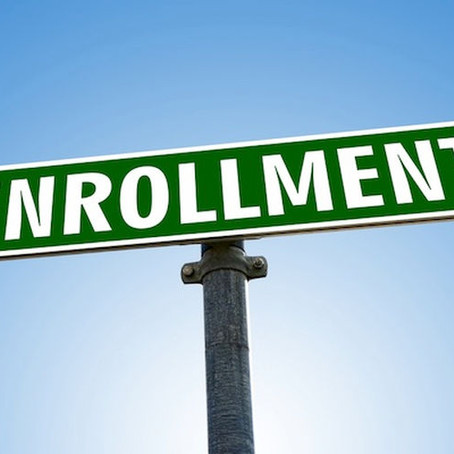 Are there enrollment periods or certain times or hours students are expected to log in?