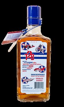 throttle 2 bottle canadian whisky bottle back