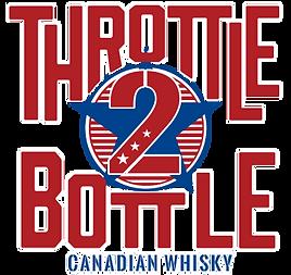 throttle 2 bottle canadian whisky