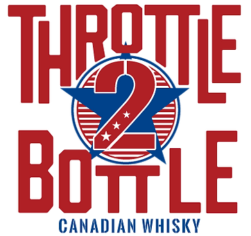 throttle 2 bottle canadian whisky