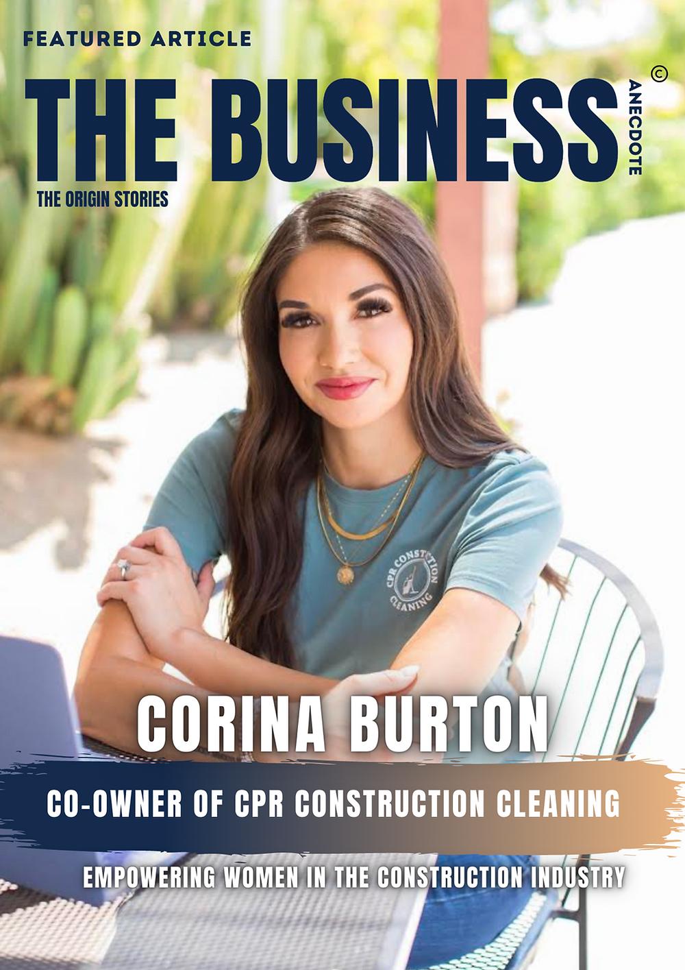 Corina Burton - The Business Anecdote