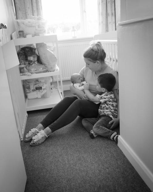 Baby Phoebe (Exeter Newborn Lifestyle Photography)