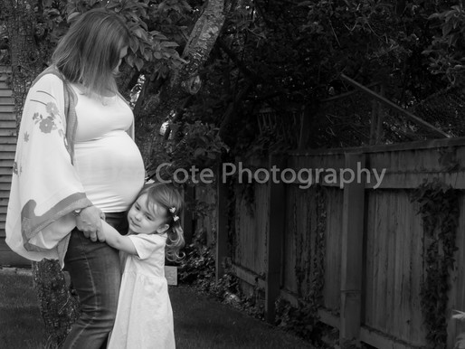 'Seaweed!' - Family/Maternity Portraits Exeter