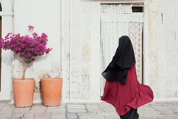 Long Three Layer Niqab