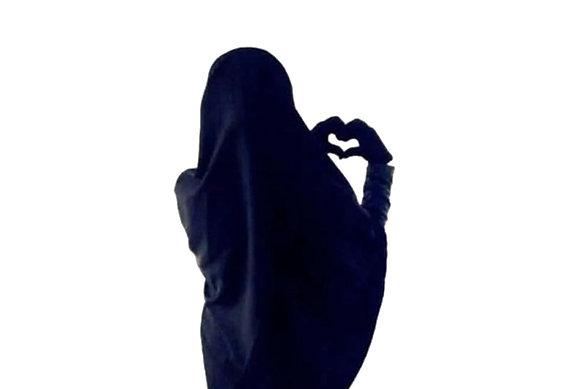 Sleeved Jilbab - Regular