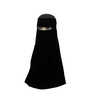 One Layer Niqab Long