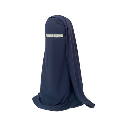 Two Layer Niqab - Nose String