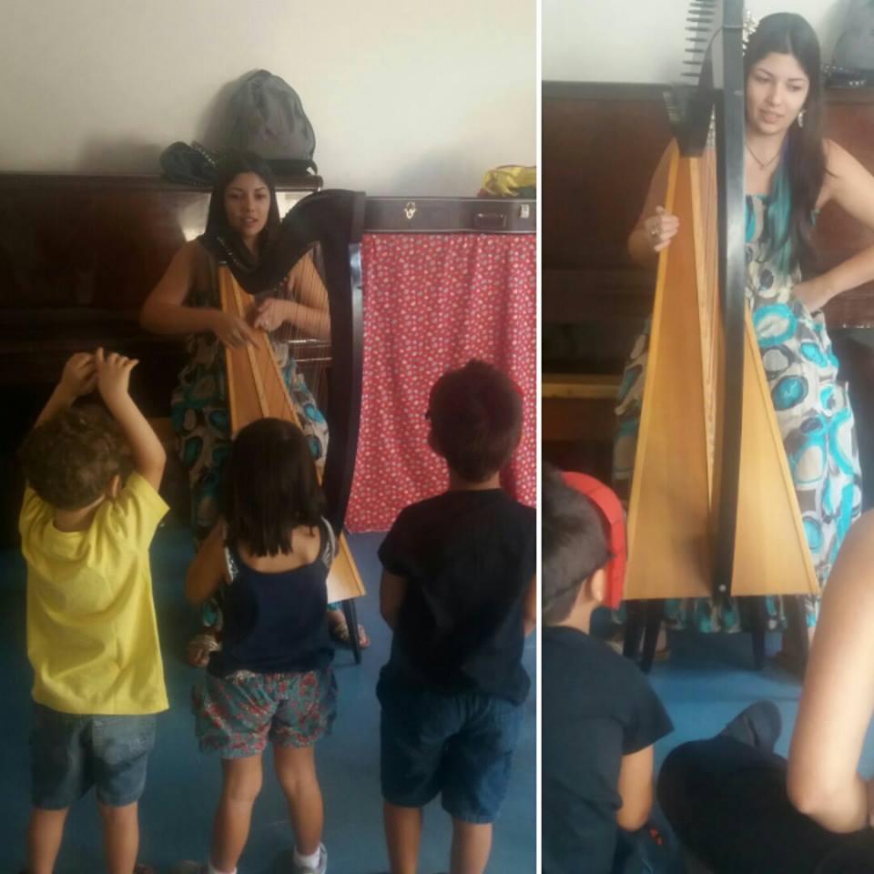 Histórias com Harpa