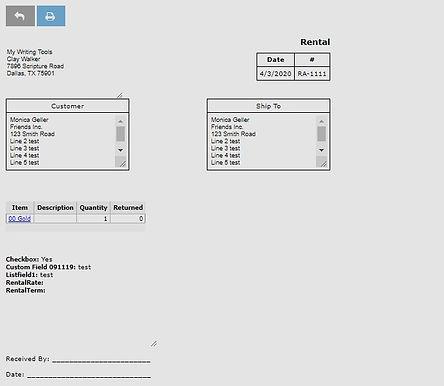 equipment rental management software