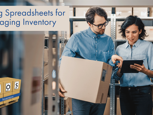 Using Spreadsheets for Managing Inventory