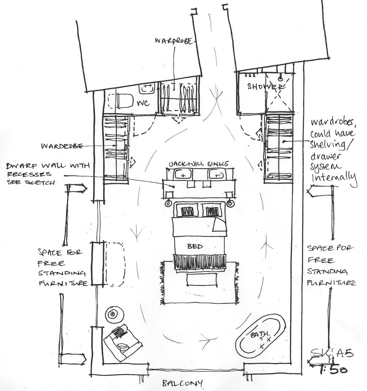 sketch SKA5