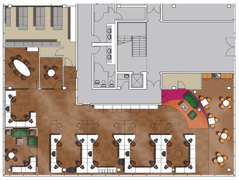 rendered floorplan