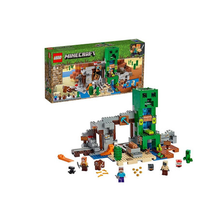 LEGO Minecraft The Creeper Mine.