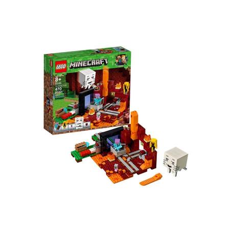 LEGO Minecraft - The Nether Portal