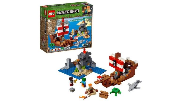 LEGO Minecraft - The Pirate Ship Adventure