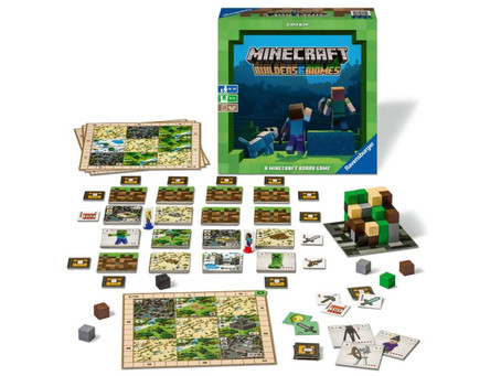 Minecraft Board Game: Builders & Biomes