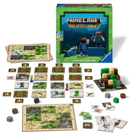 Minecraft Board Game: Builders & Biomes