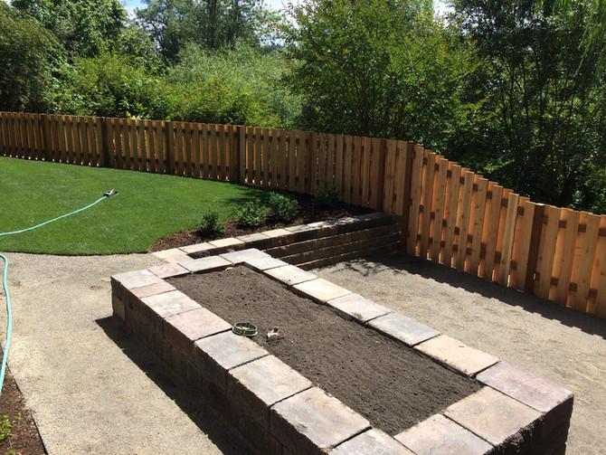 A good nieghbor cedar fence