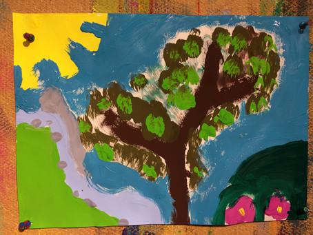 Malen als Ausdruck kindlicher Entfaltung aus heilpädagogischer Sicht