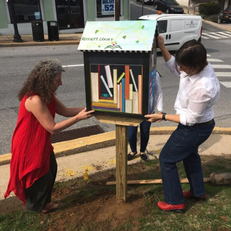 Lending library pops up in Kennett to aid childhood literacy