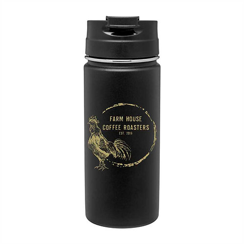 16.9 oz. Powder Coated Stainless Steel Tumbler