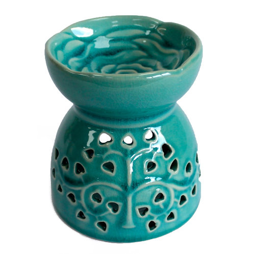 Ceramic Tree of Life Oil Burner