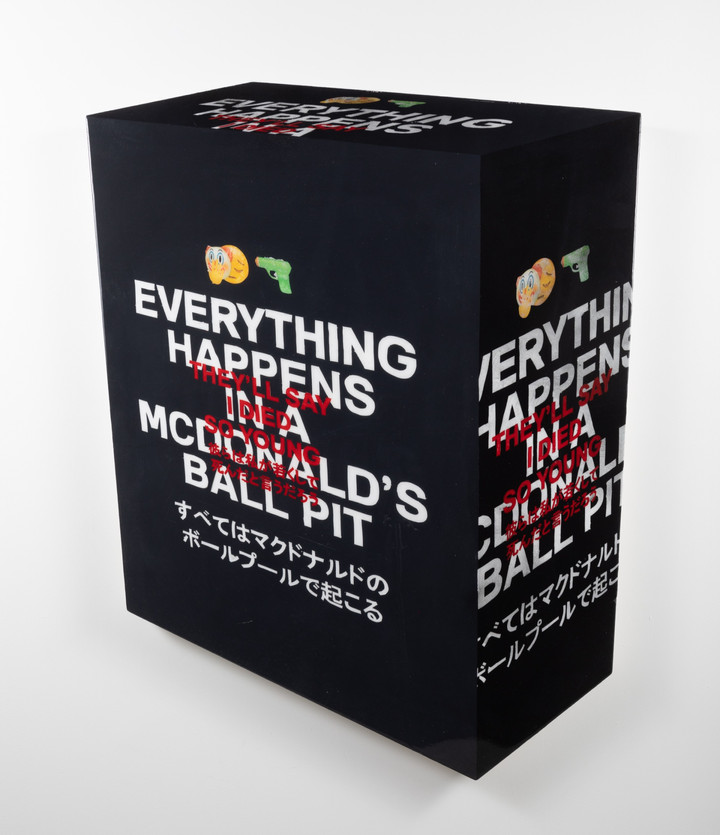 Everything happens in a McDonald's ball pit