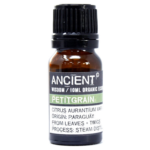 Petitgrain Organic Essential Oil 10ml