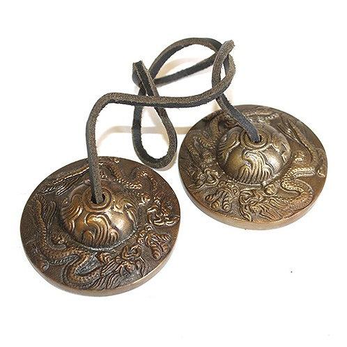 Brass Medium Tingshas