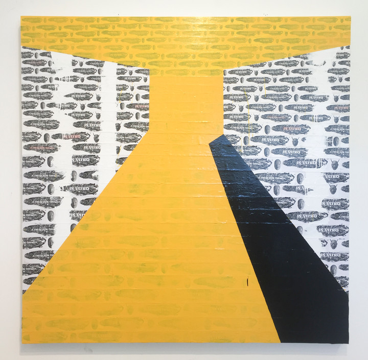 Composition in Yellow Face