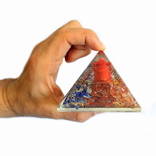 Large Orgonite Pyramids 70mm
