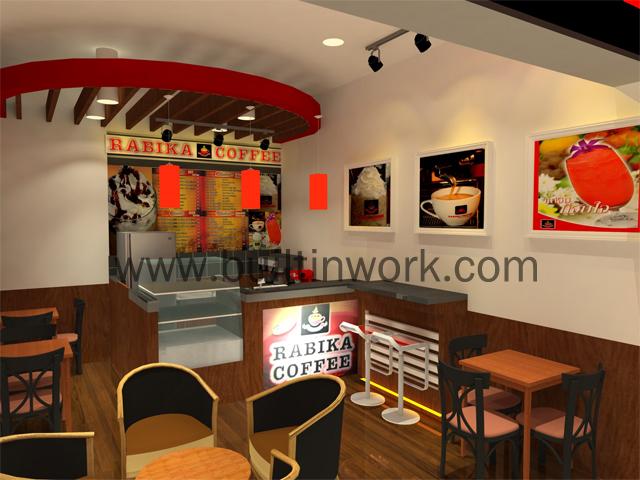 ออกแบบร้านกาแฟ Rabika เซียร์ รังสิต