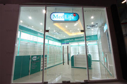 ตกแต่งร้านขายยา MedLifePlus