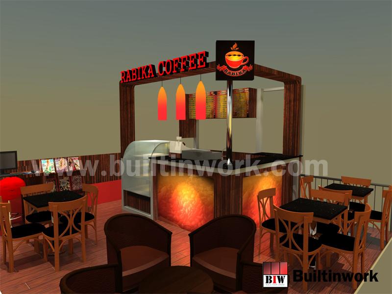 ออกแบบร้านกาแฟ Rabika ห้างเซ็นทรัล