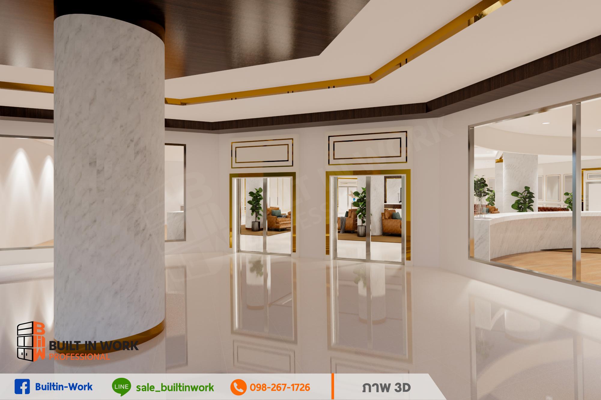 ผลงานออกแบบตกแต่งโรงพยาบาล Modern & Luxury Style