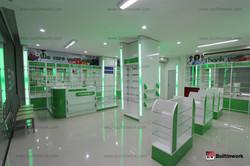 ตกแต่งร้านขายยา D Pharmacy ระยอง