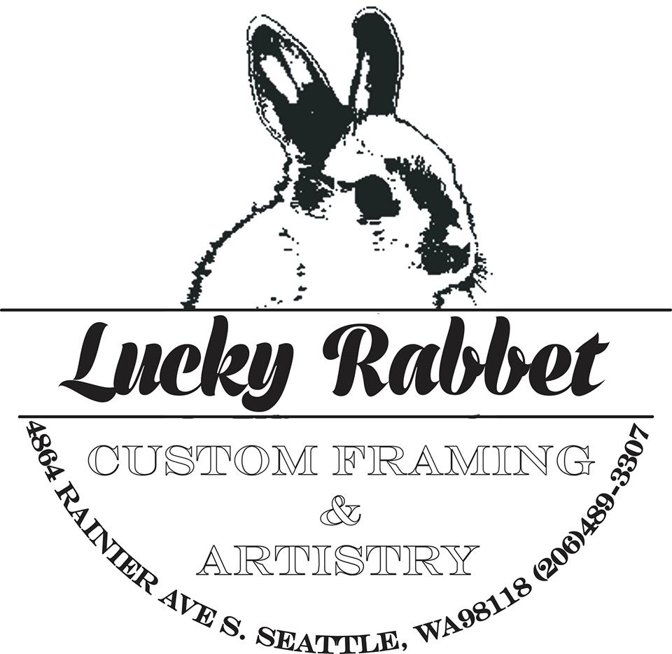 lucky rabbet custom picture framing Seattle custom framing Seattle ...