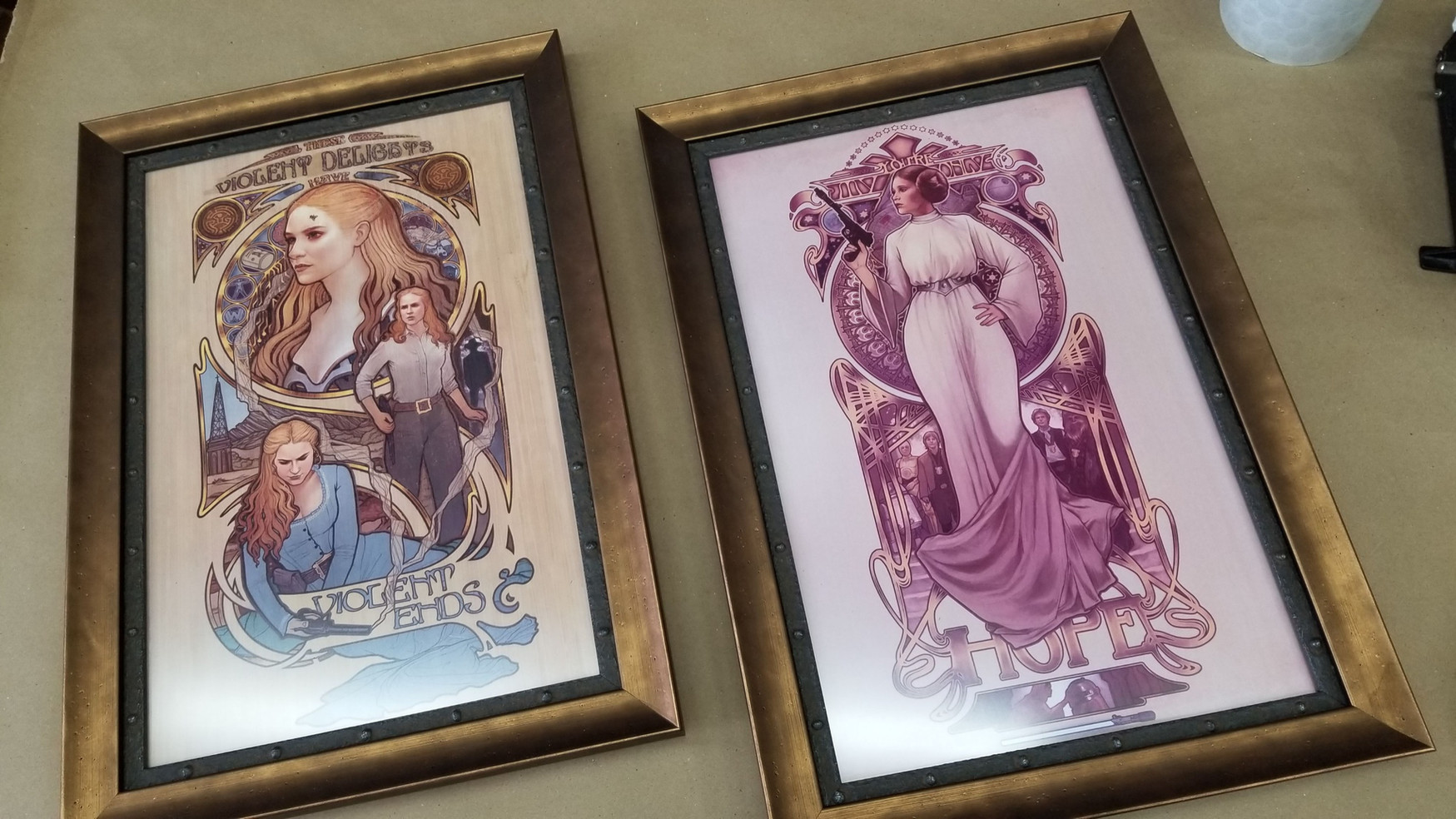 Sci-Fi/Steampunk posters