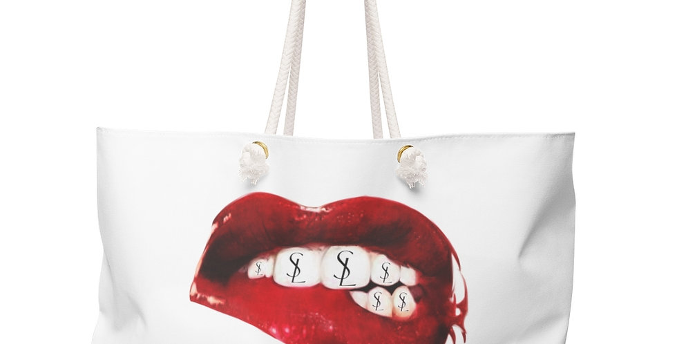 SL Mouth Weekender Beach Bag